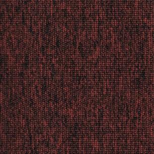 Ковровая плитка ESCOM Jetset красная 49580