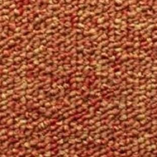 Ковровая плитка ESCOM Nice оранжевая 123