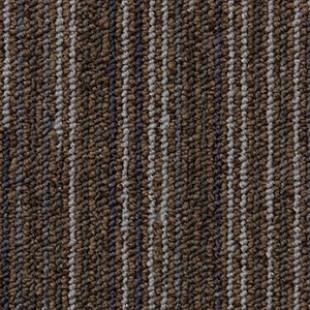 Ковровая плитка ESCOM Object Line коричневая 2082