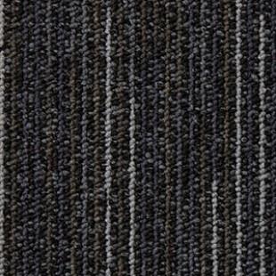 Ковровая плитка ESCOM Object Line черная 9501