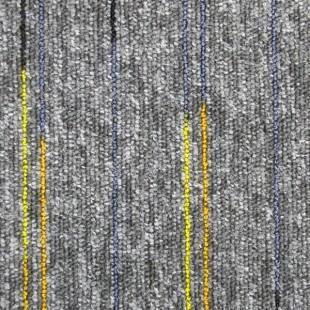 Ковровая плитка ESCOM Object Neon серая 52542