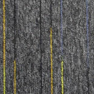 Ковровая плитка ESCOM Object Neon серая 52550