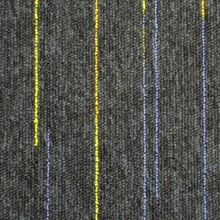 Ковровая плитка ESCOM Object Neon черная 52551