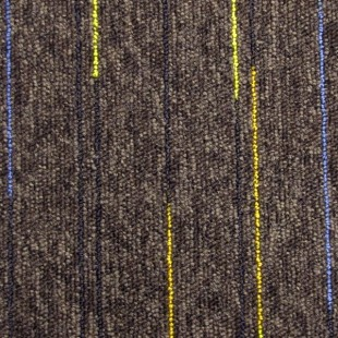 Ковровая плитка ESCOM Object Neon коричневая 52531