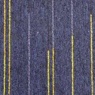 Ковровая плитка ESCOM Object Neon синяя 52560