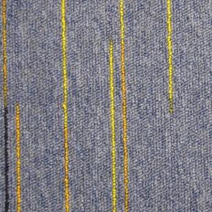 Ковровая плитка ESCOM Object Neon голубая 52561