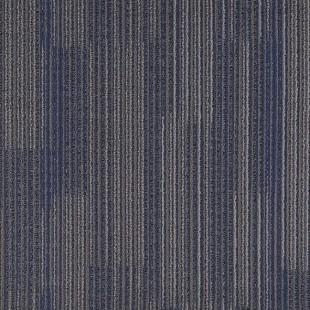 Ковровая плитка ESCOM Stitch синяя 4606