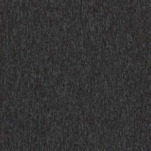 Ковровая плитка INTERFACE Empoly Loop & Lines Jet черная 4197009