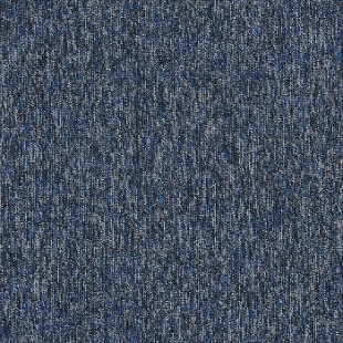 Ковровая плитка INTERFACE Empoly Loop & Lines Atlantic темно-синяя 4197012