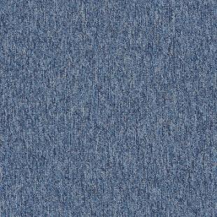 Ковровая плитка INTERFACE Empoly Loop & Lines Crystal синяя 4197013
