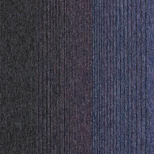 Ковровая плитка INTERFACE Empoly Loop & Lines Iridescent темно-фиолетовая 4223007