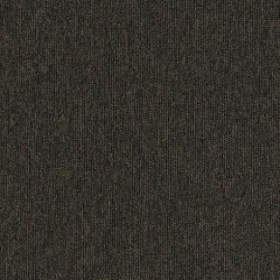Ковровая плитка INTERFACE Output Loop & Lines Chestnut черная 4219004