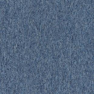 Ковровая плитка INTERFACE Output Loop & Lines Mineral темно-синяя 4219009