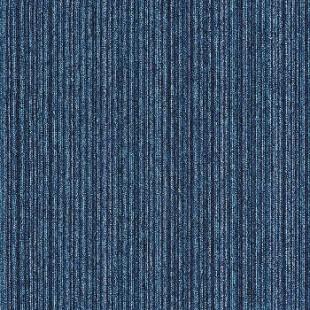 Ковровая плитка INTERFACE Output Loop & Lines Aegean темно-синяя 4221001