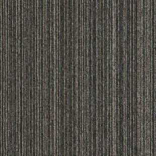 Ковровая плитка INTERFACE Output Loop & Lines Ebony темно-серая 4221008