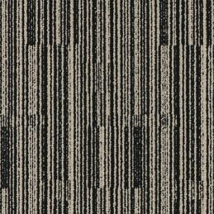 Ковровая плитка MODULYSS Black& бело-черная 001
