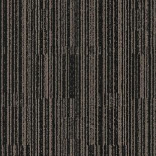 Ковровая плитка MODULYSS Black& бежево-черная 102