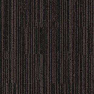 Ковровая плитка MODULYSS Black& коричнево-черная 148