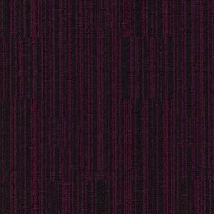 Ковровая плитка MODULYSS Black& красно-черная 316