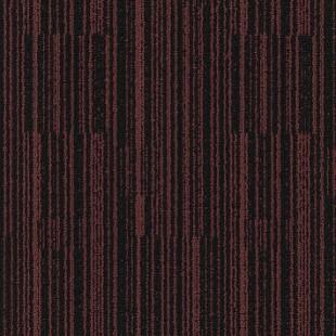Ковровая плитка MODULYSS Black& красно-черная 322