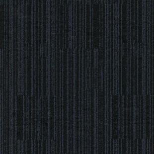 Ковровая плитка MODULYSS Black& сине-черная 432