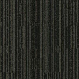 Ковровая плитка MODULYSS Black& коричнево-черная 609
