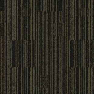 Ковровая плитка MODULYSS Black& коричнево-черная 662