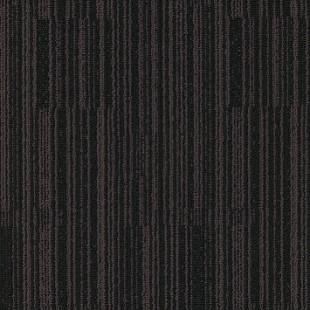 Ковровая плитка MODULYSS Black& коричнево-черная 822