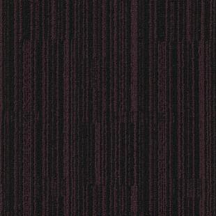 Ковровая плитка MODULYSS Black& красно-черная 832