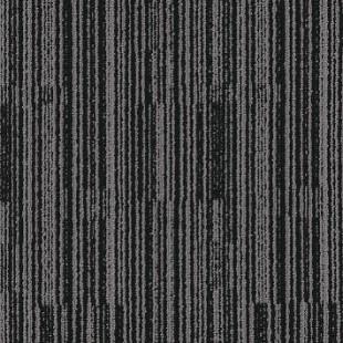 Ковровая плитка MODULYSS Black& серо-черная 915
