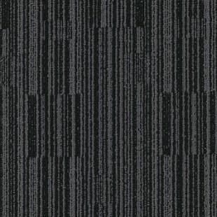 Ковровая плитка MODULYSS Black& серо-черная 930