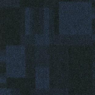 Ковровая плитка MODULYSS First Blocks синяя 575