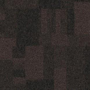 Ковровая плитка MODULYSS First Blocks коричневая 809
