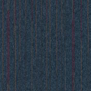 Ковровая плитка MODULYSS First Lines синяя 556