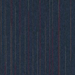 Ковровая плитка MODULYSS First Lines синяя 576