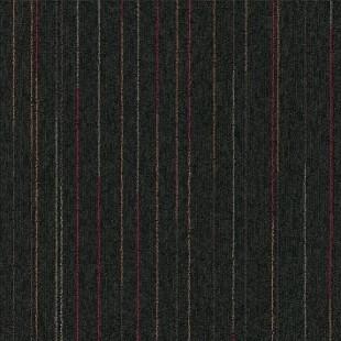 Ковровая плитка MODULYSS First Lines черная 966