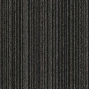 Ковровая плитка MODULYSS First Stripes черная 989