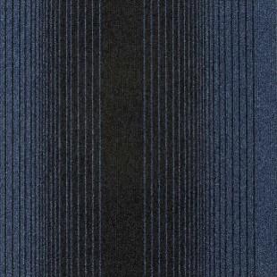 Ковровая плитка MODULYSS First Waves синяя 523