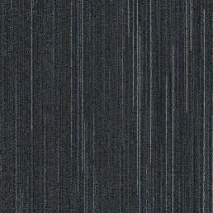 Ковровая плитка MODULYSS Line-up черная 562