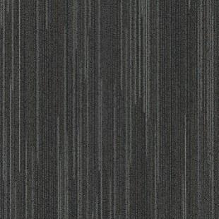 Ковровая плитка MODULYSS Line-up черная 956