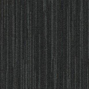 Ковровая плитка MODULYSS Line-up черная 995