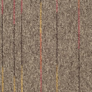 Ковровая плитка Таркетт SKY Neon коричневая 186-83