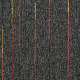 Ковровая плитка Таркетт SKY Neon черная 338-83