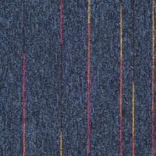 Ковровая плитка Таркетт SKY Neon синяя 448-83