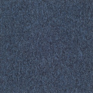 Ковровая плитка Таркетт SKY PVC синяя 448-82