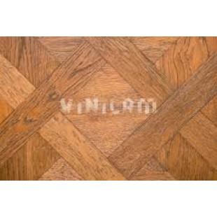 Виниловые полы Vinilam коллекция Клеевой замок Паркет крем 216515