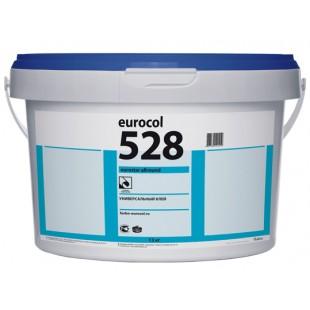Клей для LVT-плитки и других покрытий Forbo Eurocol 528 Eurostar Allround однокомпонентный дисперсионный 12 кг