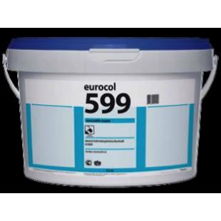Клей для LVT-плитки и других покрытий Forbo Eurocol 599 Eurosafe Super однокомпонентный дисперсионный 13 кг