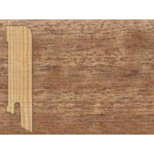 Плинтус напольный прямой (плоский) шпонированный Tarkett Африканский Махагони