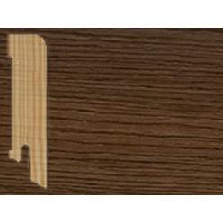 Плинтус шпонированный Дуб Ява прямой